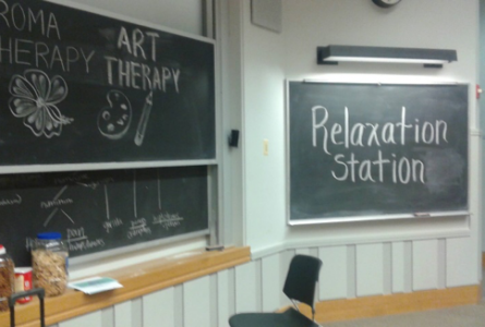 Relaxation Station: Decreasing Stress During Finals