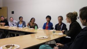 Dinner with Drs. Schwartz ('06) and Morales