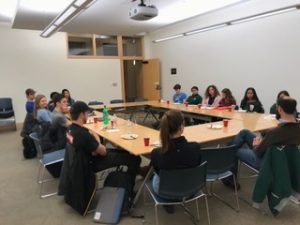 NSS Meets the Dartmouth Outing Club: Dinner with Dr. Tim Burdick