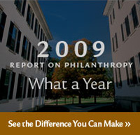 2009 Report on Philanthropy - Read the Report
