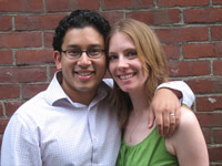 Jacques Neelankavil '01 and Erica Rivinoja '99