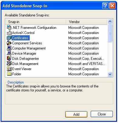 Adding a Trusted CA Certificate to the Computer\'s Certificate Store on ...