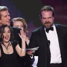 David Harbour at SAG speech