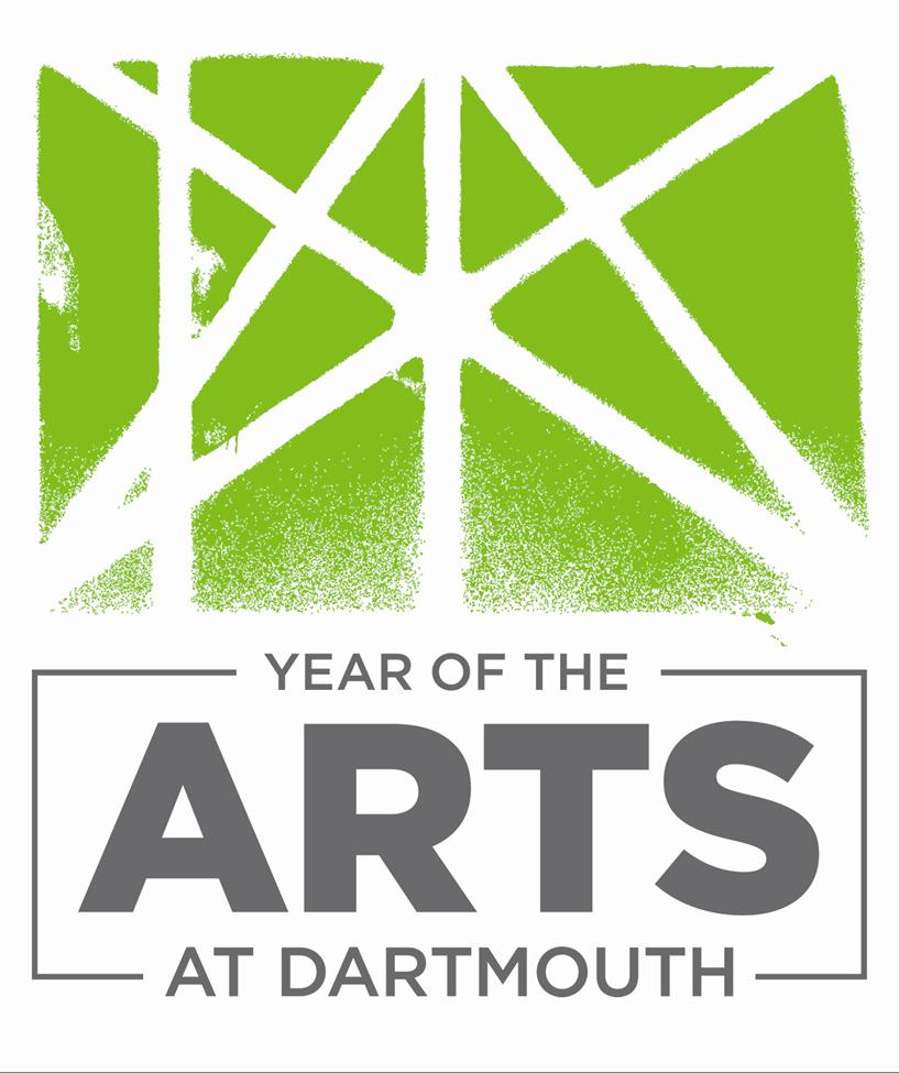 Year of the Arts at Dartmouth logo