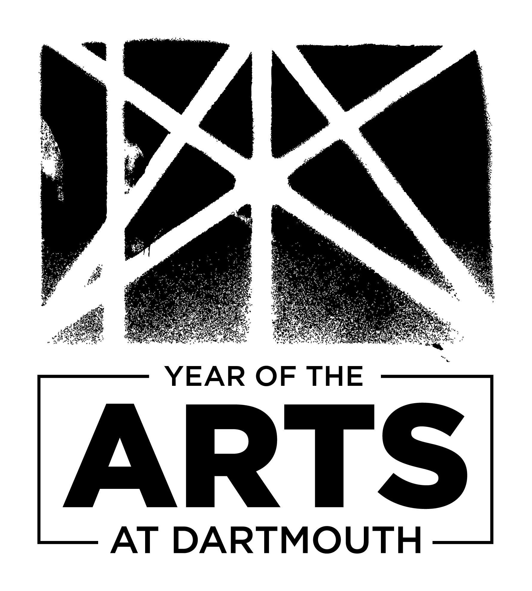 Year of the Arts logo - black