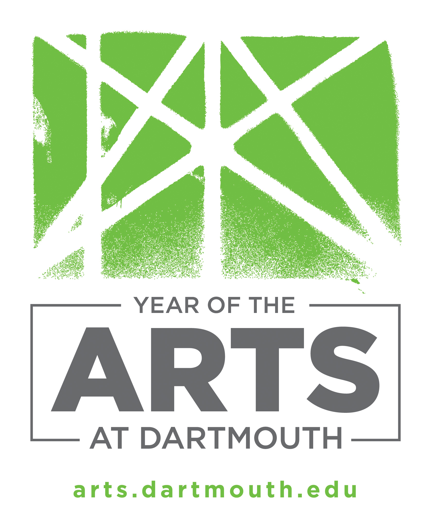 Year of the Arts at Dartmouth logo with URL