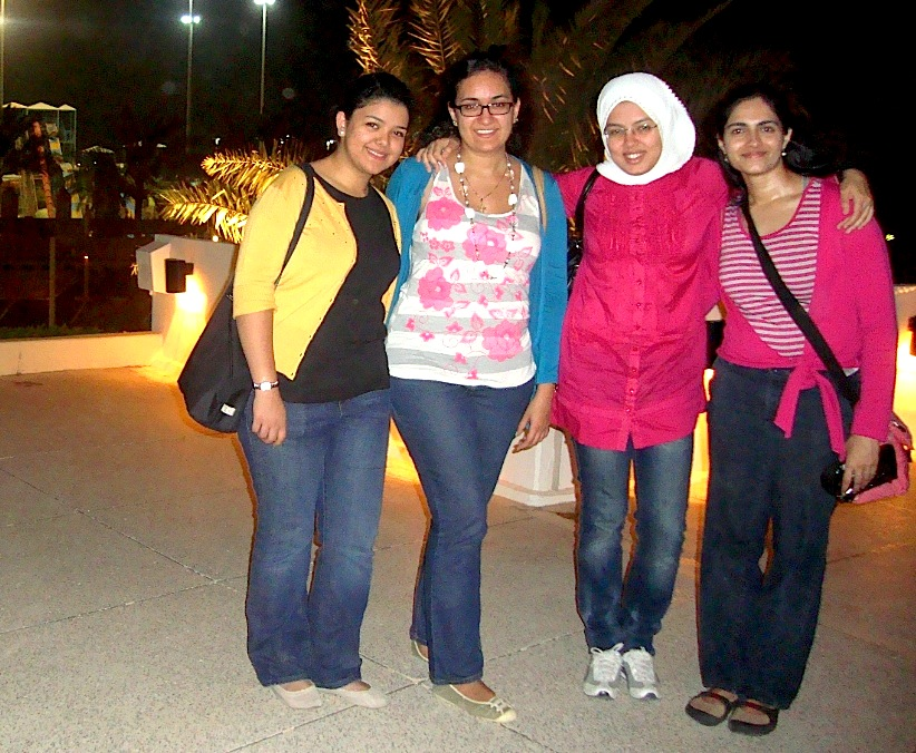 sara, hala, nada, and shloka