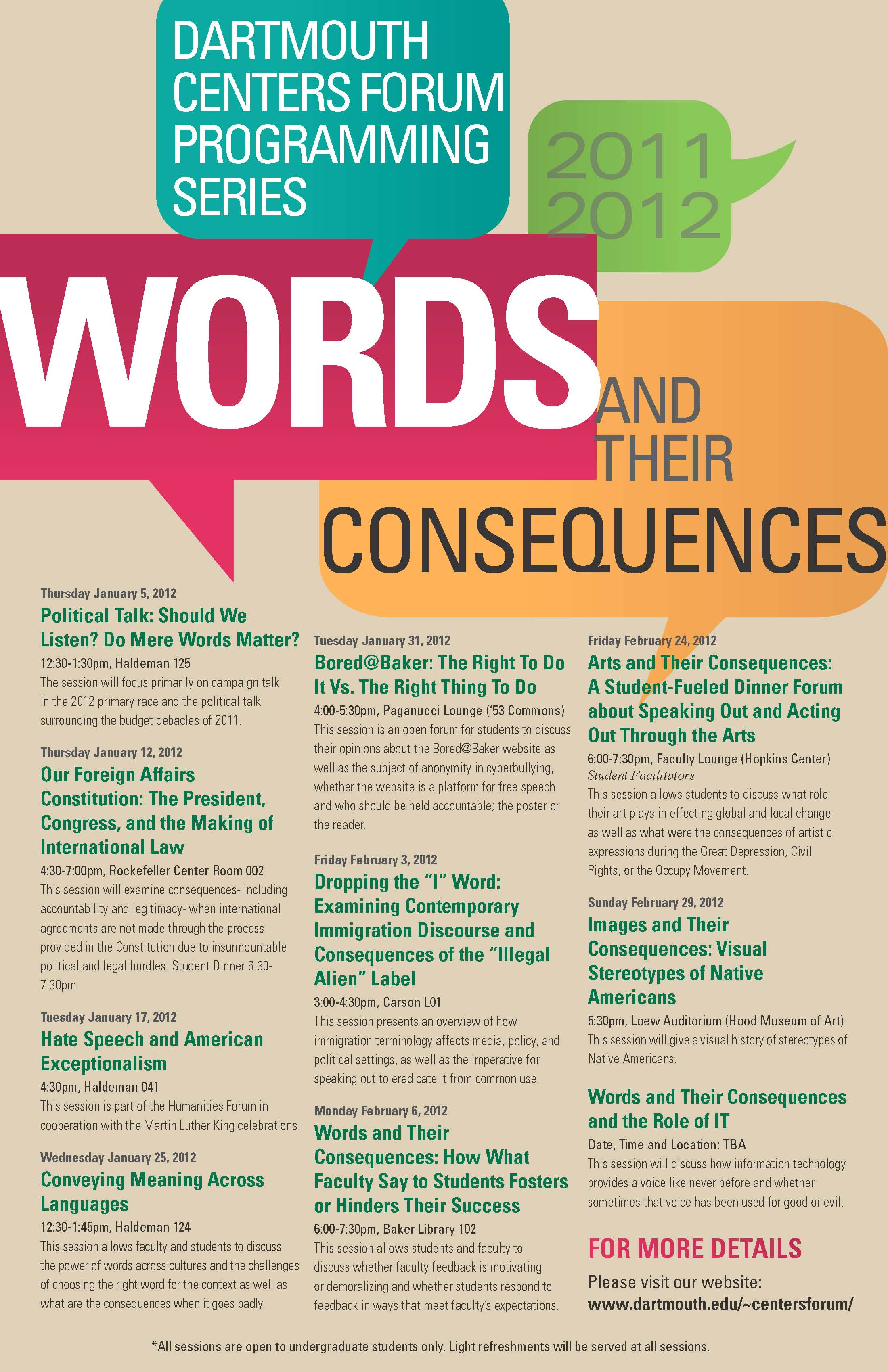 dcf discussions poster