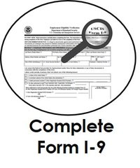 Complete Form I-9 Login