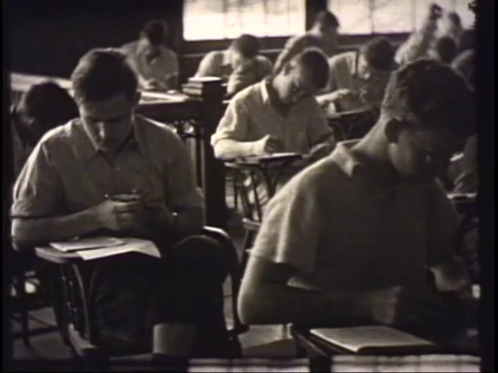 Students in class, 1938?