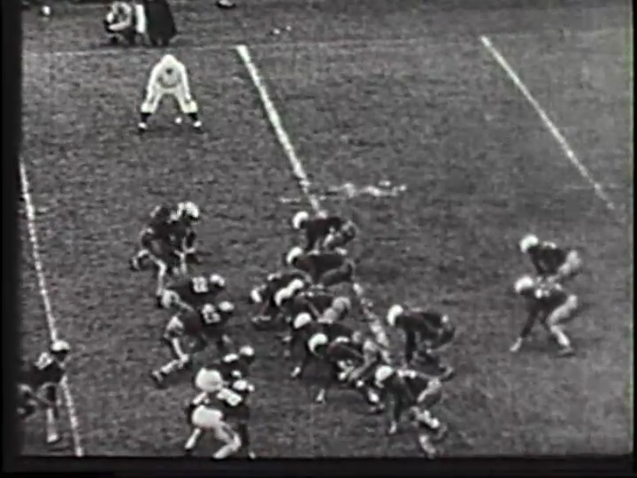 shot from Big Green vs. Cornell 1940