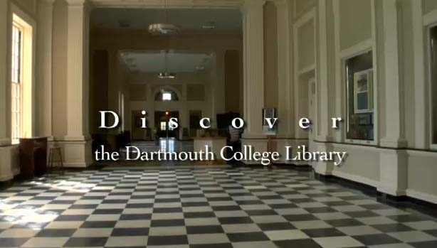 Discover Dartmouth Library
