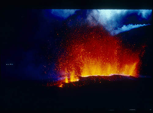 Volcano from the Stoiber Slides