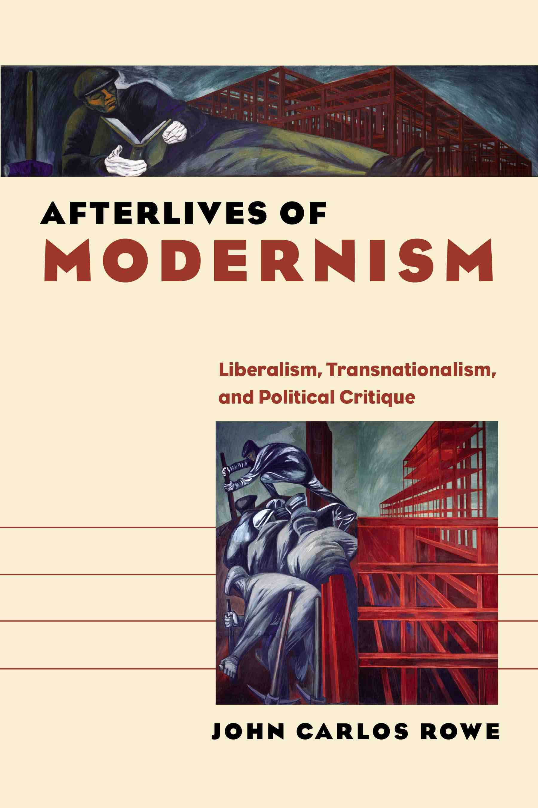 cover of Afterlives of Modernism