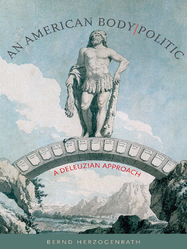 cover of An American Body|Politic