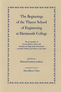 cover of The Beginnings of The Thayer School of Engineering