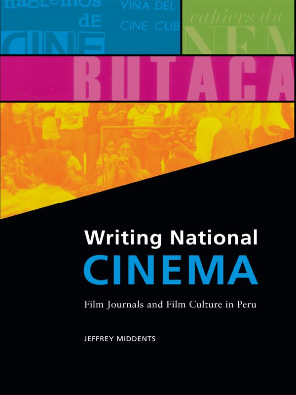 cover of Writing National Cinema