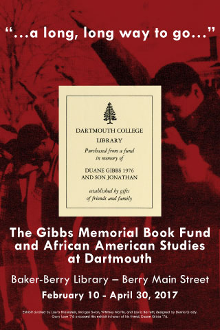 Gibbs Fund exhibit poster