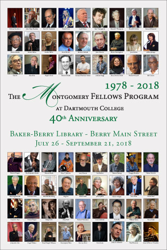2018 Montgomery Fellows exhibit poster