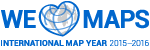Logo for International Map Year