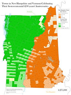 Maps Created Using GIS - New hampshire population map