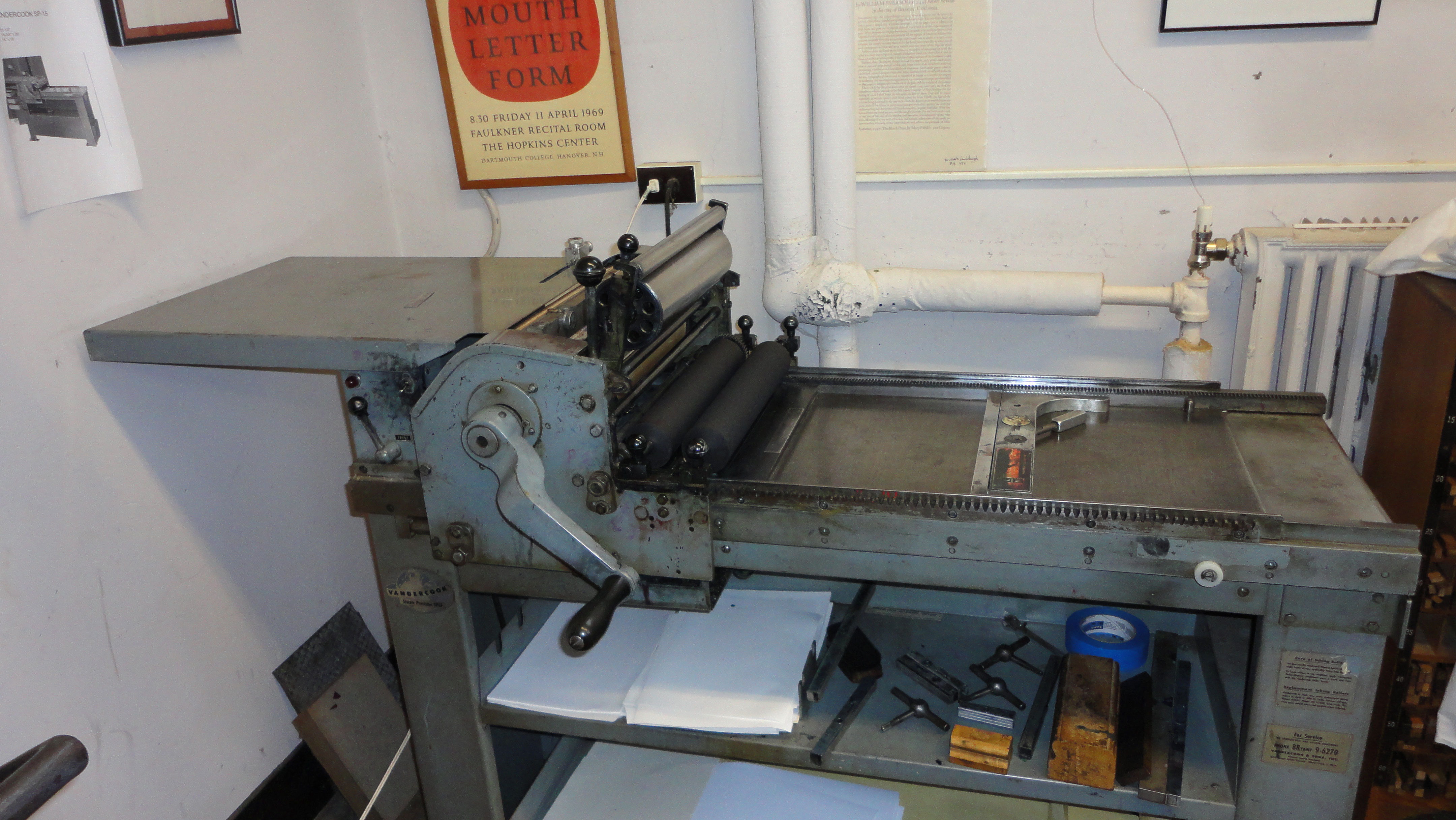 The Vandercook SP-15