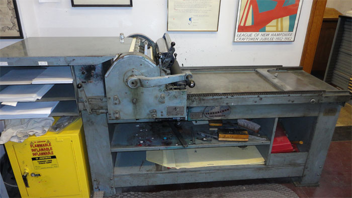 The Vandercook SP-20