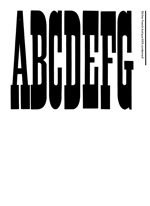 Wood Type Specimens Page 1