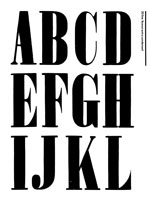 Wood Type Specimens Page 5