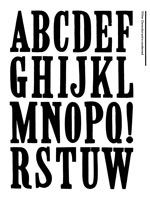 Wood Type Specimens Page 9