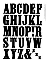 Wood Type Specimens Page 13