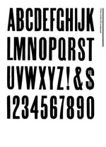 Wood Type Specimens Page 14