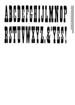 Wood Type Specimens Page 15