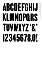 Wood Type Specimens Page 20