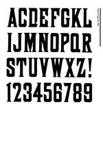 Wood Type Specimens Page 21