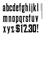 Wood Type Specimens Page 22