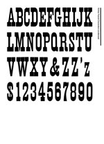 Wood Type Specimens Page 23