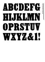 Wood Type Specimens Page 26