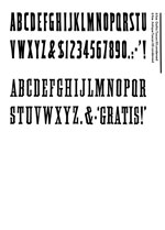 Wood Type Specimens Page 33