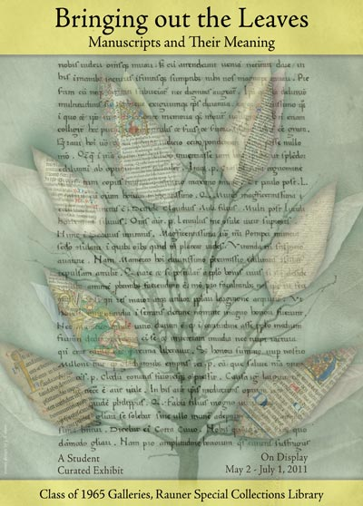 Bringing out the Leaves: Manuscripts and their Meaning