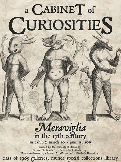A Cabinet of Curiosities: Meraviglia in the 17th Century
