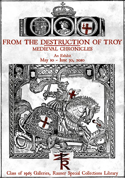 From the Destruction of Troy: Medieval Chronicles
