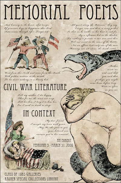 Memorial Poems: Civil War Literature in Context
