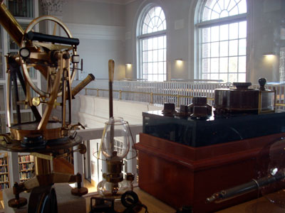 Colonel Mustard in the Library with a Galvanometer: Finding Clues in Scientific Instruments