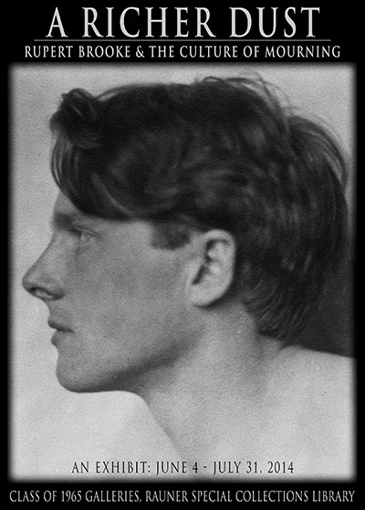 A Richer Dust: Rupert Brooke & The Culture of Mourning
