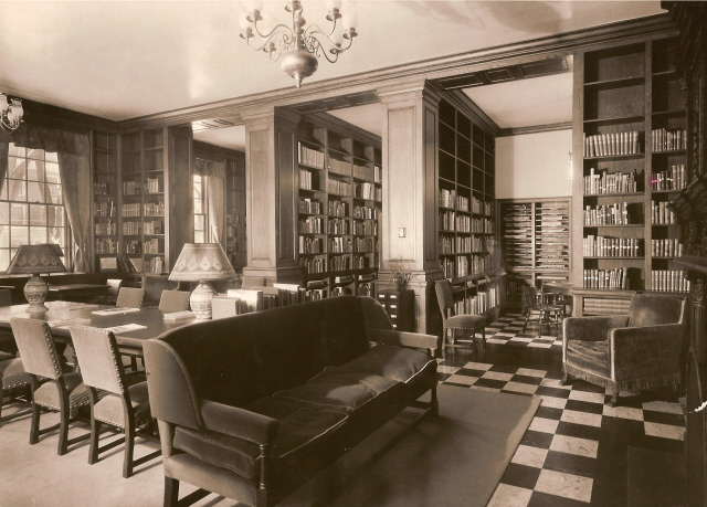 Sherman Art Library 1929