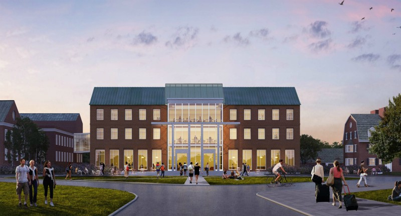 Rendering of Arthur L. Irving Institute