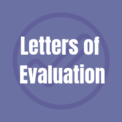 Link to Letters of Evaluation page