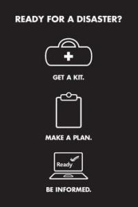 Get a Kit, Make a Plan, Be Informed