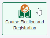 Course Election and Registration Tile